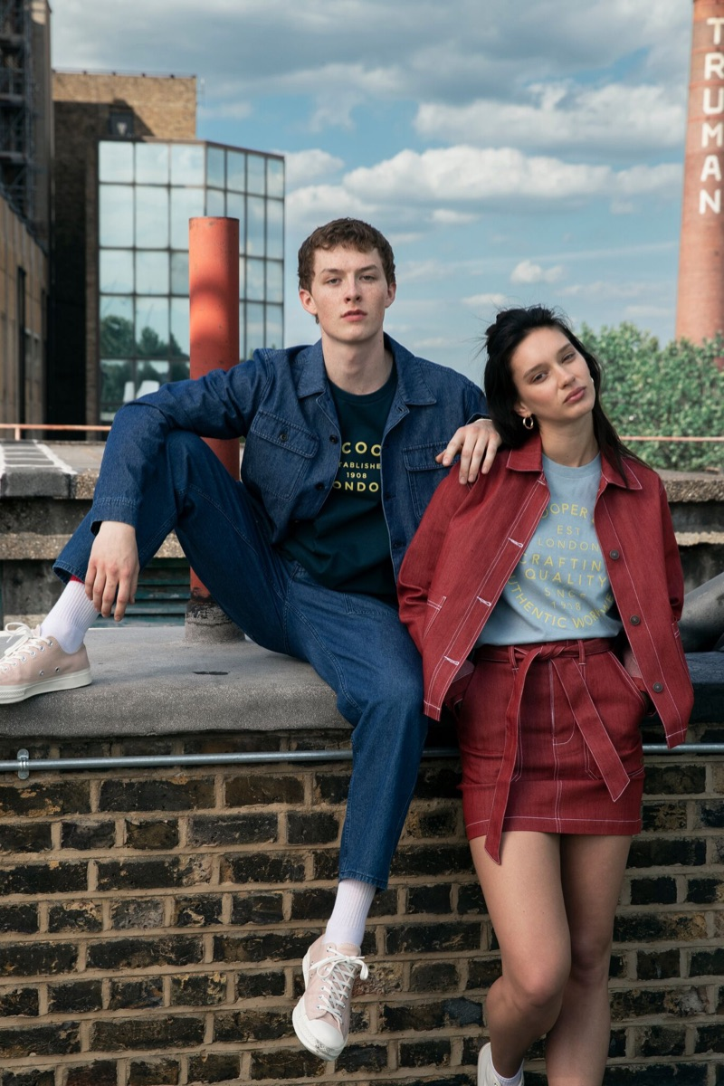 Lee Cooper enlists Harry Kirton and Renee Stewart as the stars of its fall-winter 2019 campaign.