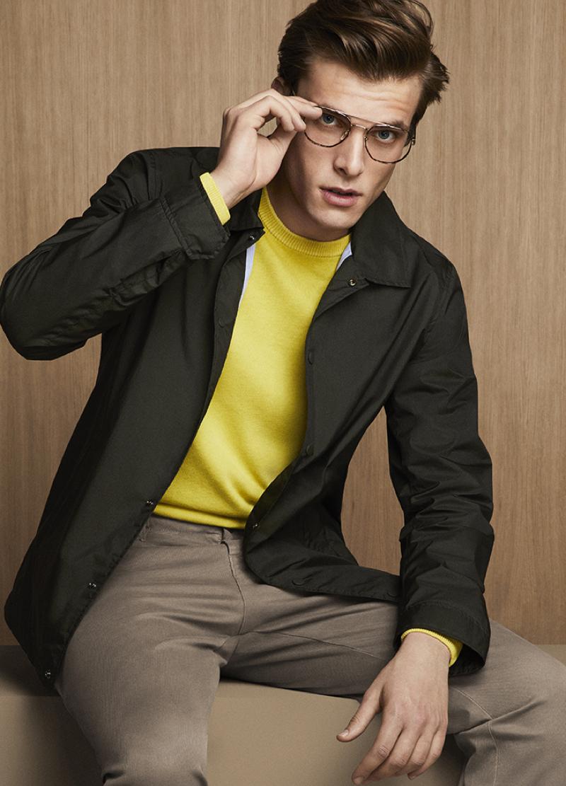 Rocking glasses, Riccardo Romano is a smart vision for Liu Jo Uomo.