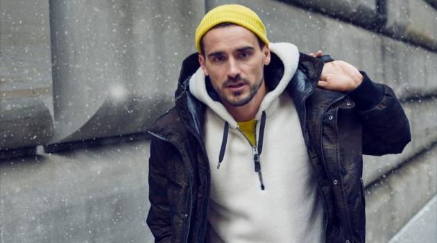 Arthur Kulkov stars in Mackage's fall-winter 2019 men's campaign.
