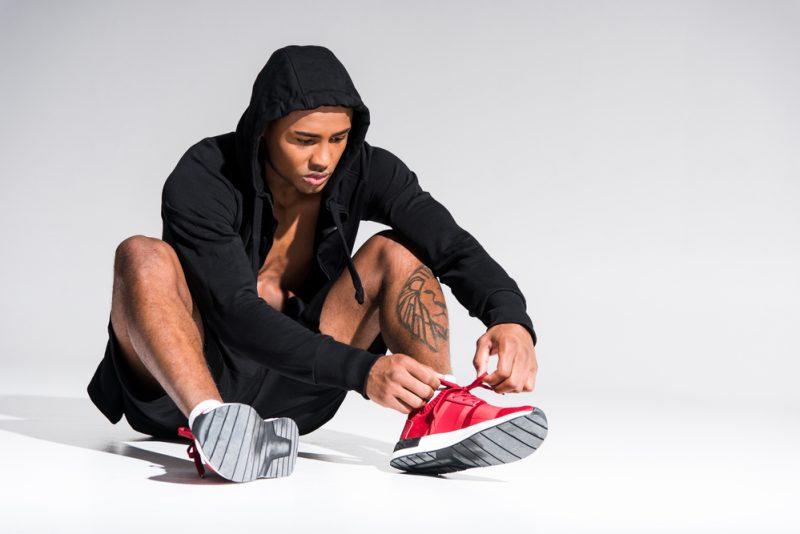 Man Hoodie Sneakers