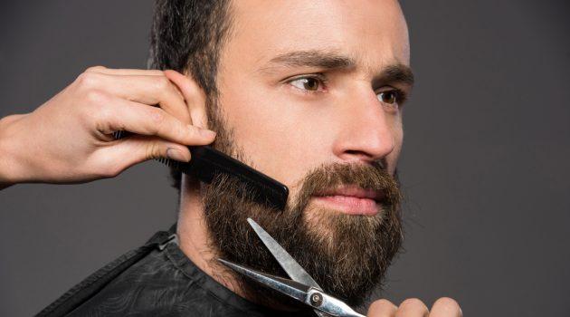 Man Maintaining Beard