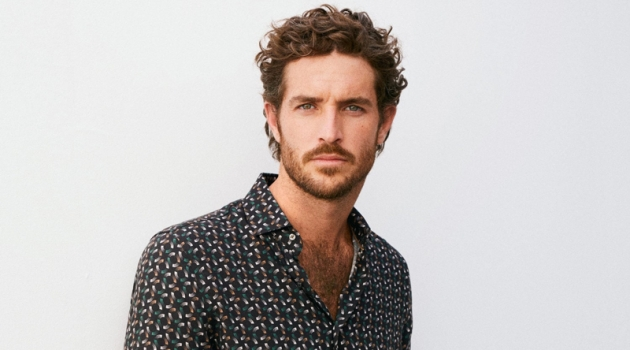 New Arrivals: Justice Joslin Models Casual Looks for Mango