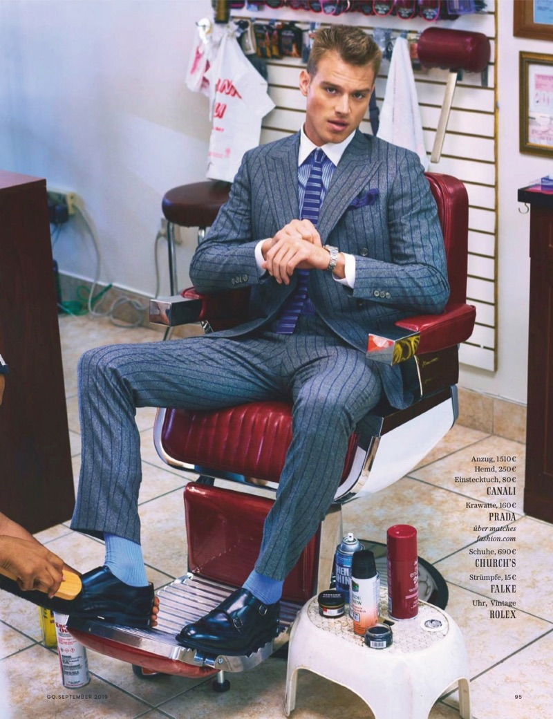 Out of Office: Matthew Noszka for GQ Germany