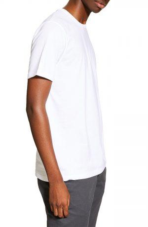 Men's Topman 5-Pack Classic Fit T-Shirts, Size Large - Blue