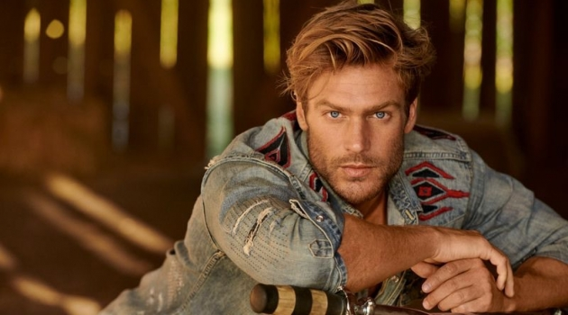 Jason Morgan Dons All American Style for POLO Ralph Lauren Fall '19 Campaign