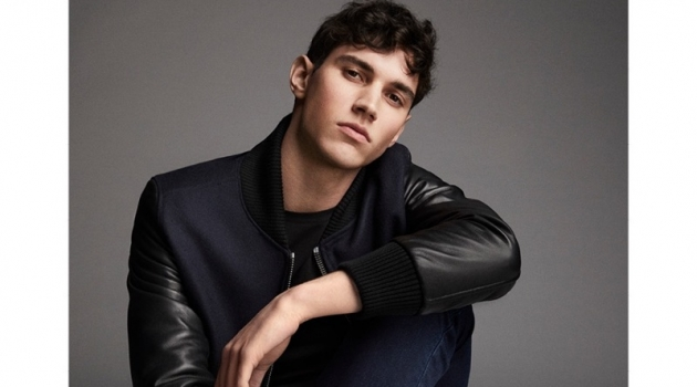 Marco Bozzato stars in Pollini's fall-winter 2019 campaign.