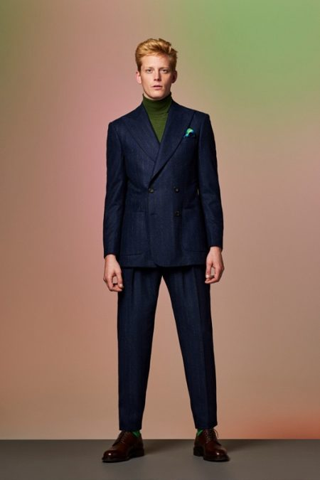 Richard James Savile Row Channels 80s Tokyo for Fall '19 Collection