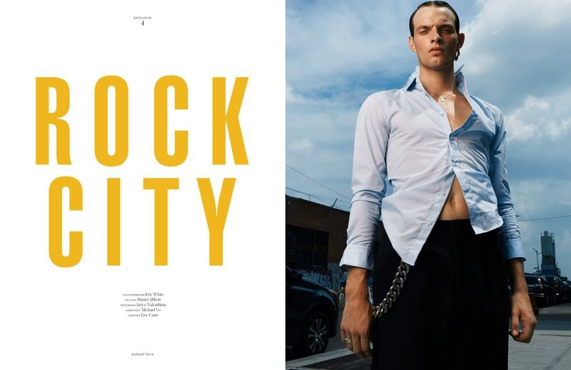 Rocky Harwood is a Chic Vision for Man of Metropolis Cover Story
