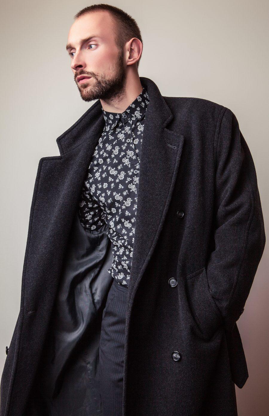 Stylish Man Winter Coat