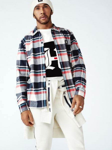 Lewis Hamilton Links Up with Tommy Hilfiger for 3rd TommyxLewis Collection