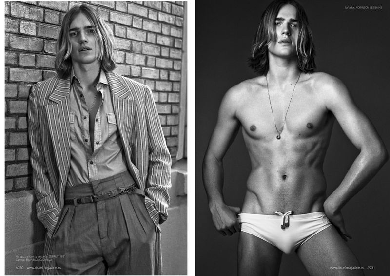 Ton Heukels Sports Eclectic Style for Risbel Magazine