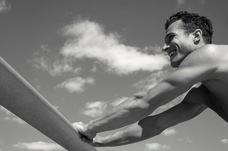 Torben König Rocks Ron Dorff in Fashion for Men