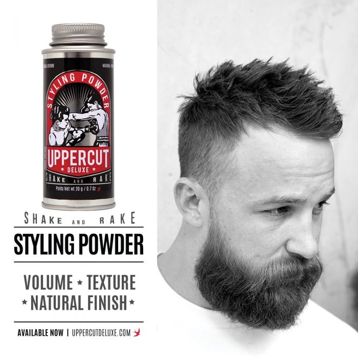 Uppercut Deluxe Launches Styling Powder