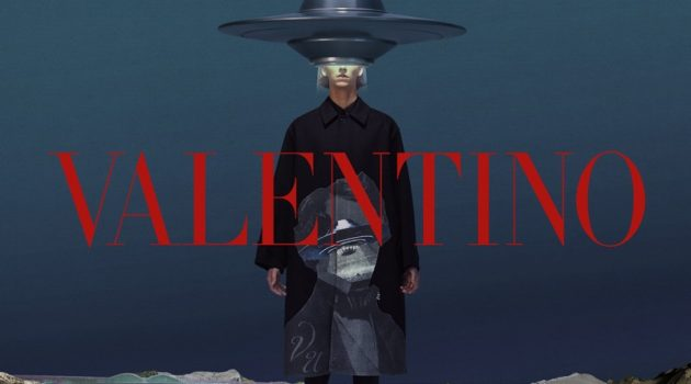 Ids Van Den Booren fronts Valentino's fall-winter 2019 men's campaign.
