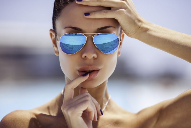 Woman Aviator Sunglasses