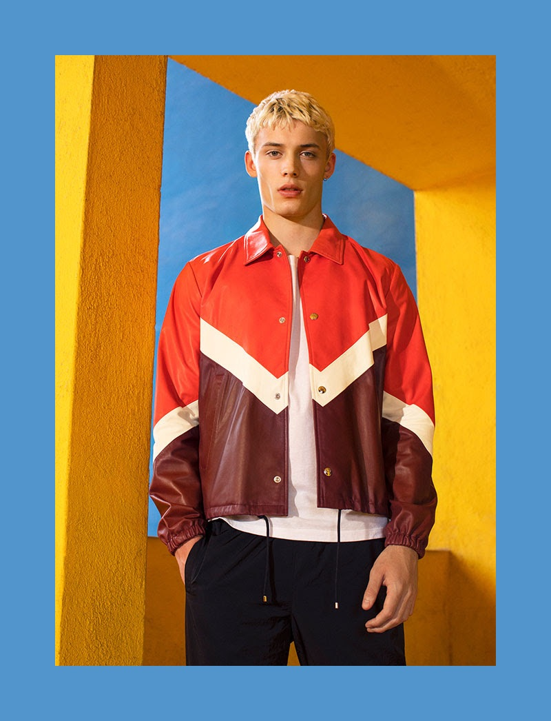Good Sport: João Knorr Rocks Performance-Inspired Looks for YOOX
