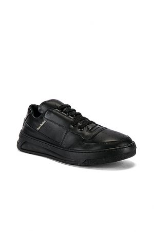 Acne Studios Perey Lace Up Sneakers in Black
