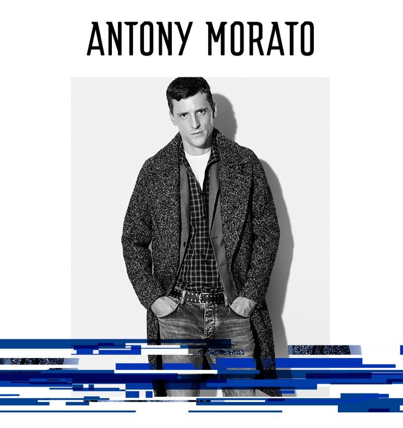 George Barnett fronts Antony Morato's fall-winter 2019 campaign.