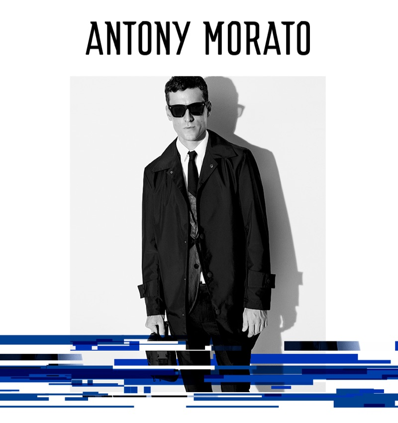 George Barnett Tackles Urban-Inspired Style for Antony Morato Fall '19 Campaign