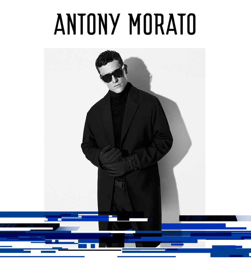 A sleek vision, George Barnett connects with Antony Morato for its fall-winter 2019 campaign.