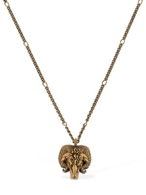 Aries Motif Chain Necklace