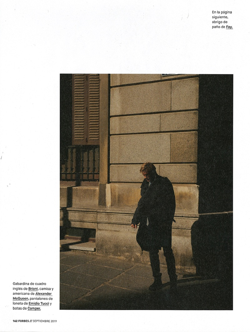 Arnaud Lemaire Takes to New York for Forbes España