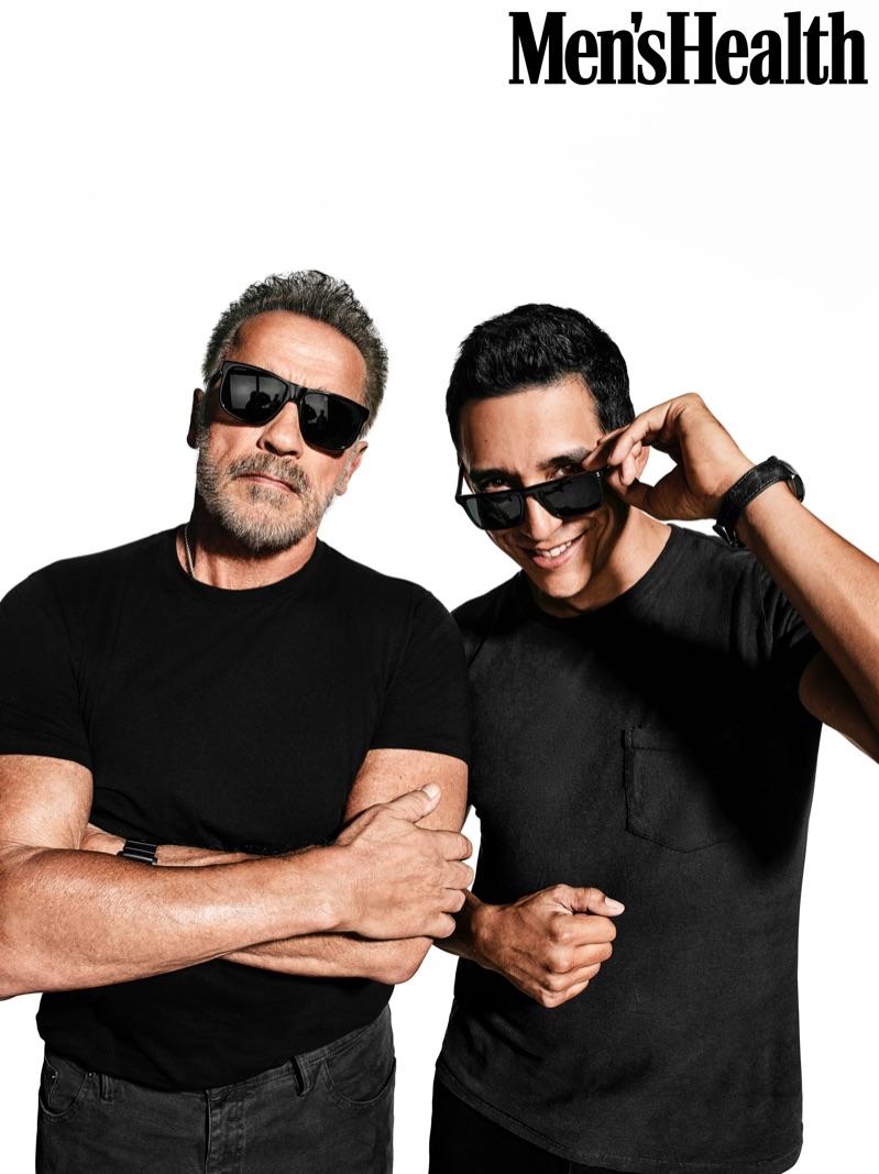 'Terminator: Dark Fate' Stars Arnold Schwarzenegger & Gabriel Luna Cover Men's Health