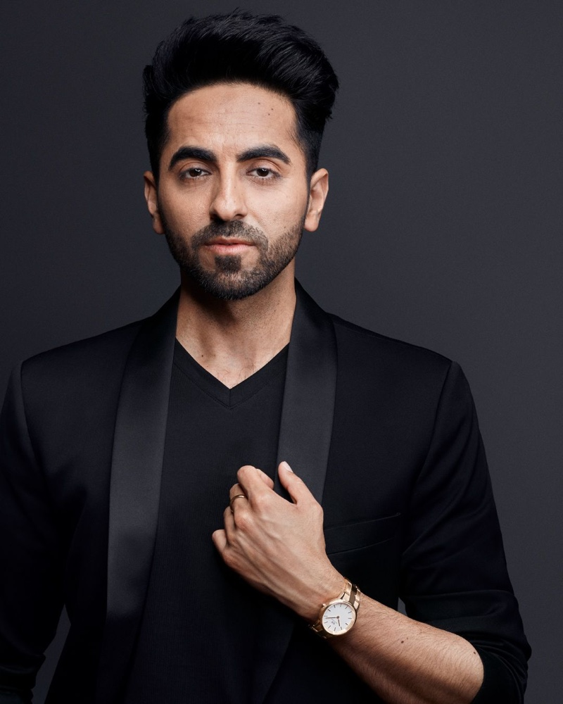 Indian actor Ayushmann Khurrana stars in Daniel Wellington's Iconic Link campaign.