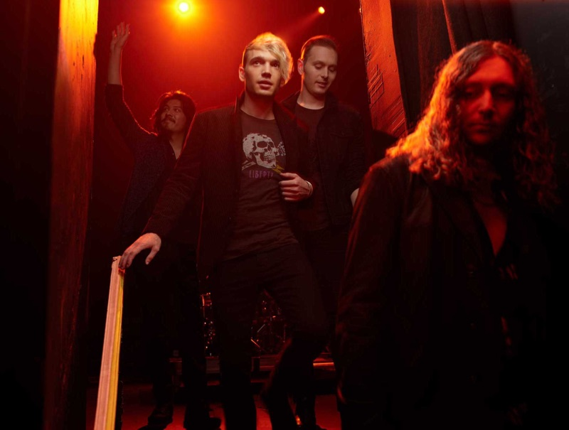 Rock band Badflower appears in the John Varvatos Star USA fall-winter 2019 campaign.