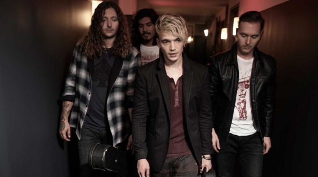 Dressed in John Varvatos Star USA's latest fashions, Badflower stars in the brand's fall-winter 2019 campaign.