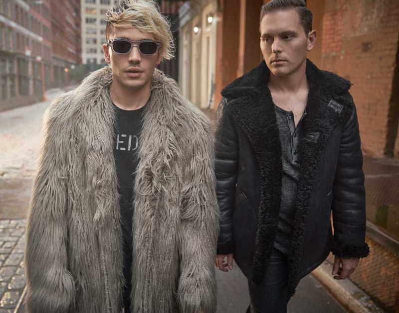 A cool vision, Badflower fronts John Varvatos Star USA's fall-winter 2019 campaign.