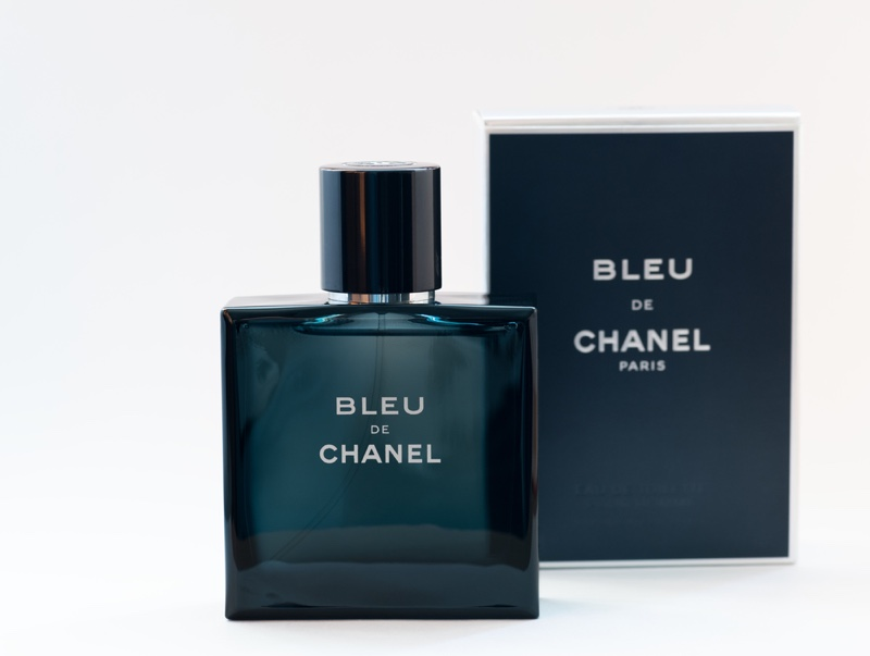 Bleu de Chanel Cologne Fragrance Bottle