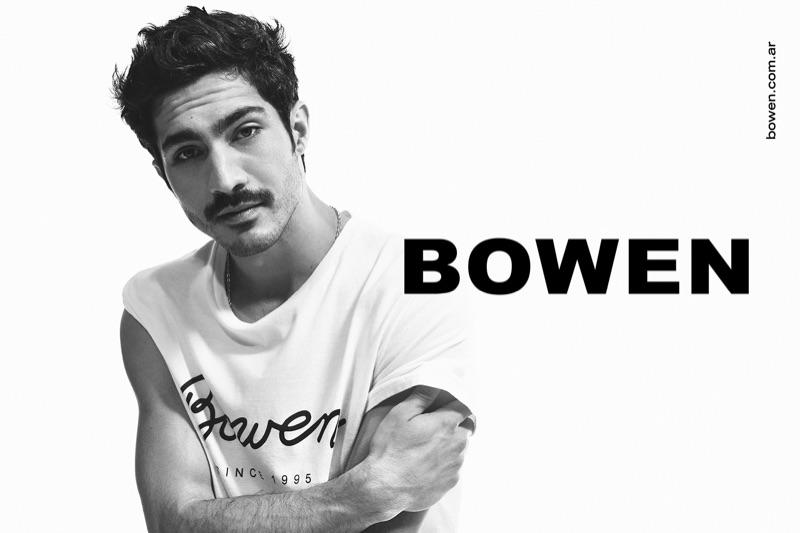 Chino Darín stars in Bowen's spring-summer 2020 campaign.