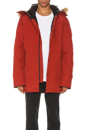 Canada Goose Carson Parka in Red