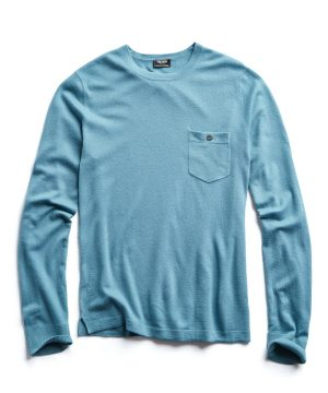Cashmere T-Shirt in Spruce