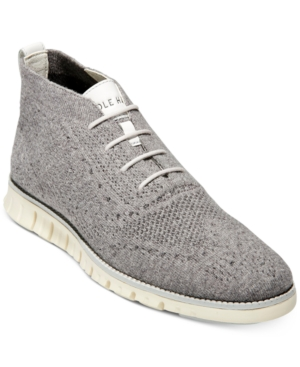 Cole Haan Men's ZERØGRAND Stitchlite Wool Chukka Boots Men's Shoes