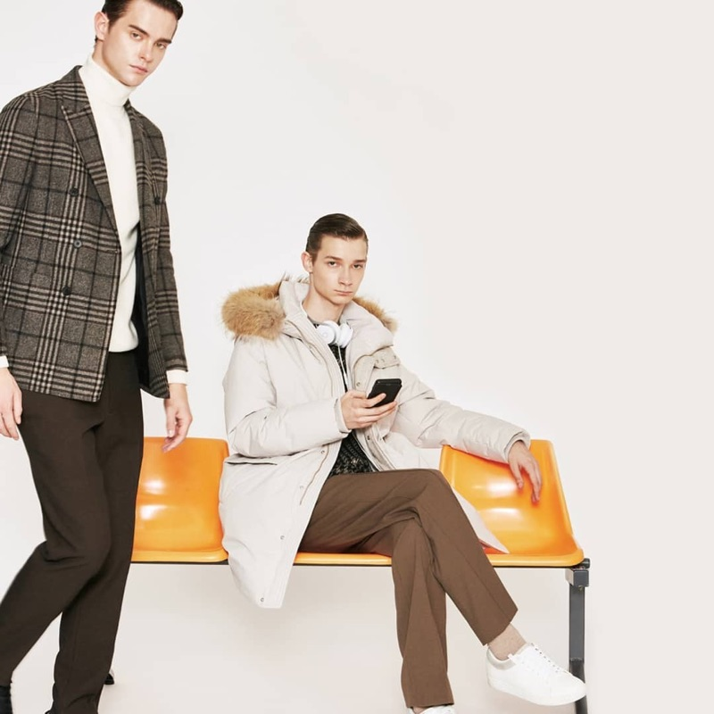 Comodo Korea enlists Damian Gałkowski and Guillaume D. as the stars of its fall-winter 2019 campaign.