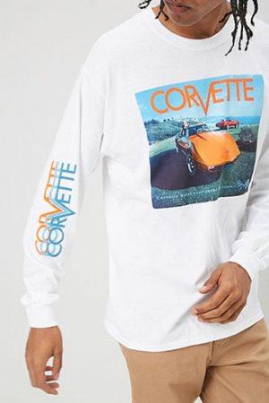 Corvette Graphic Tee at Forever 21 , White/multi