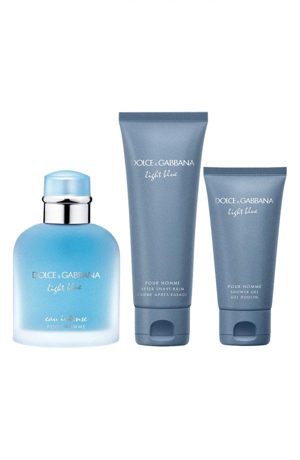 Dolce & gabbana Light Blue Eau Intense Pour Homme Set ($124 Value)