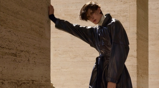 Edoardo Sebastianelli Takes to Rome for Vogue Hommes Paris