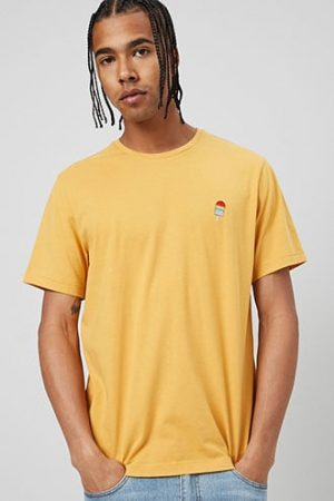 Embroidered Popsicle Graphic Tee at Forever 21 , Yellow/multi