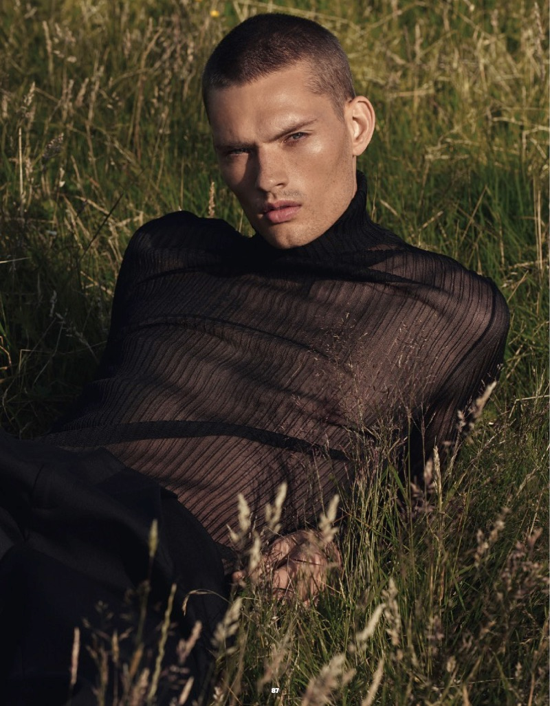 William Los Takes to Outdoors for Esquire Singapore Story