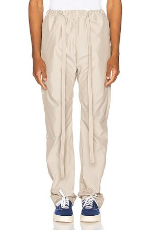 Fear of God Baggy Nylon Pant in Brown