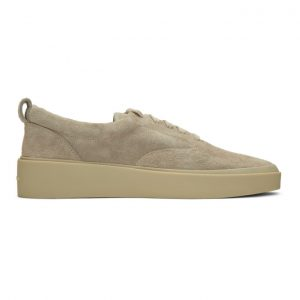 Fear of God Grey Suede Lace-Up Sneakers