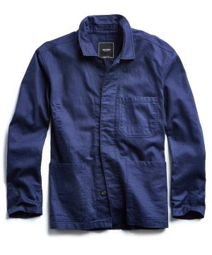 French Chore Jacket in Navy