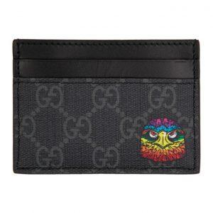 Gucci Black Eagle Card Holder