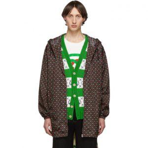 Gucci Black GG Star Print Jacket