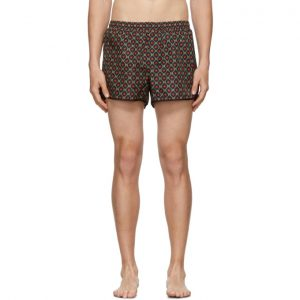 Gucci Black GG Stars Swim Shorts
