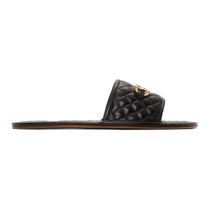Gucci Black Gaun Sandals   The Fashionisto