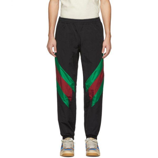 Gucci Black Oversized Lounge Pants